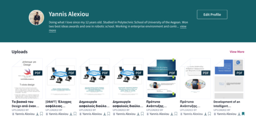 I made Scribd account for my university project deliverables!